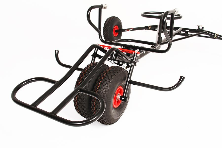 Tandem paramotor trike