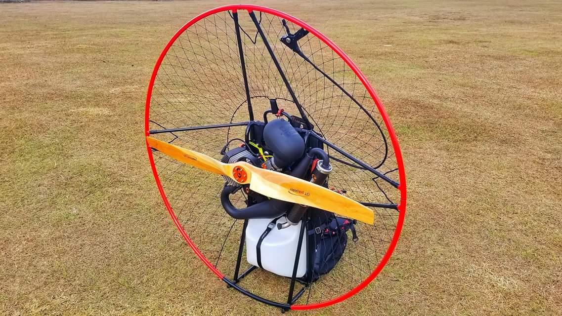 wooden paramotor propeller 2